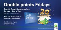 Pump up your Smart Shopper points with BP