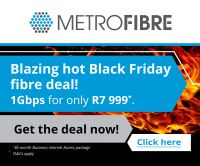 Metrofibre Black Friday